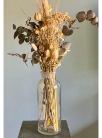 Florero + Ramo de Flores secas! - Linea